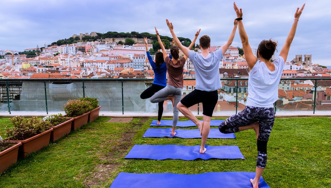 Yoga at Hotel do Chiado, Entretanto Rooftop bar